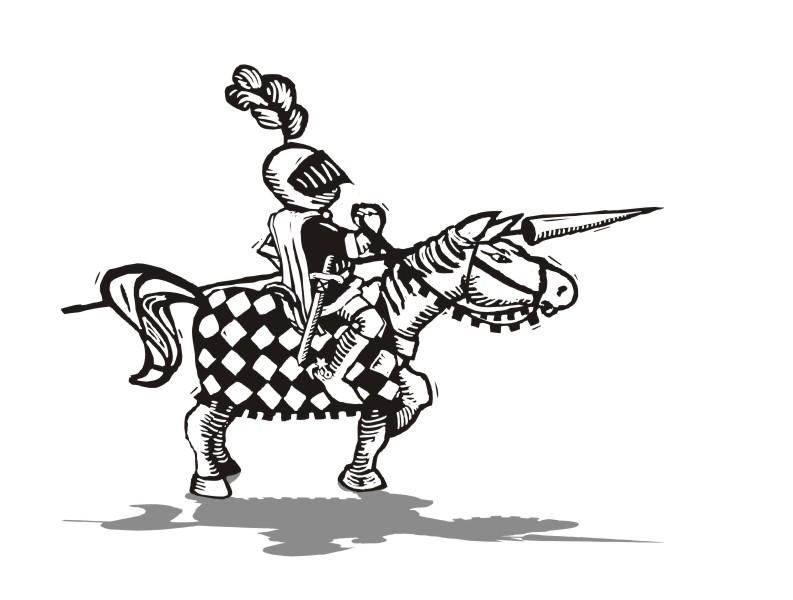 Mittelalterliche Illustration